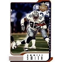 Emmitt Smith football card (Dallas Cowboys Hall of Fame) 2002 Fleer Focus #20