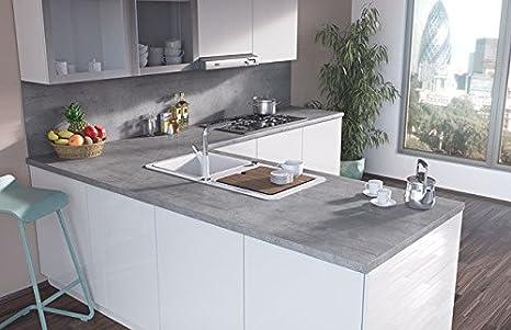 Egger contemporaneo Boston cemento effetto laminato cucina bagno ...