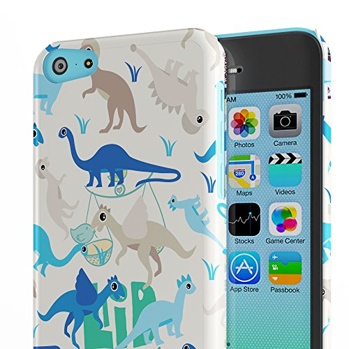 Koveru Back Cover Case for Apple iPhone 5C - Baby Dinos
