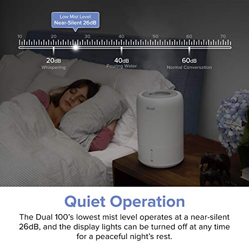 Levoit Humidifiers For Bedroom Cool Mist Humidifier For Babies Top Fill Ultrasonic Air Humidifier Essential Oil Diffuser With Smart Sleep Mode Whisper Quiet Operation Auto Shut Off 1 8l 0 48gal Pricepulse