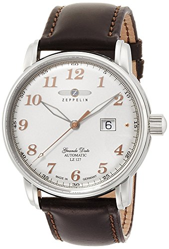 ZEPPELIN watch Graf silver dial automatic winding 7652-4 Men's [regular imported goods]