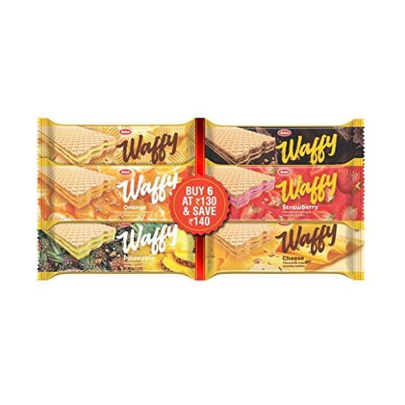 Dukes Wafers - Chocolate, Pineapple, Strawberry, Orange and Vanilla, 450g Pack