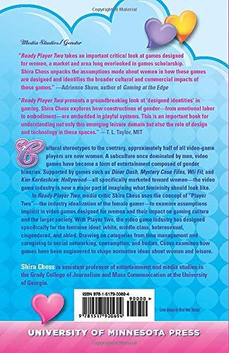 Ready Player Two Women Gamers And Designed Identity Chess Shira 9781517900694 Amazon Com Books