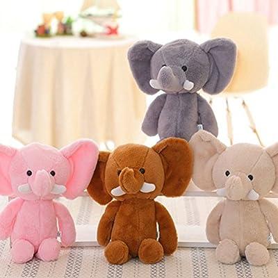 Anniston Plush Toy, Mini Lovely Elephant Stuffed Animals Kids Baby Soft Plush Toy X-mas Gift Doll Ultra Soft Furry Stuffed Animal Plush Gifts for Kids Boys Girls Small Dogs: Home & Kitchen