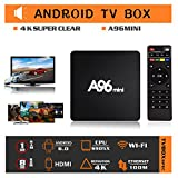 Set Top Box, Binwen Android 6.0 Google Internet TV Box Amlogic S905X Quad Core 3D 4K Support 2.4G Wi-Fi 1GB/8GB