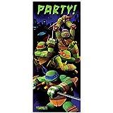 """Plastic Teenage Mutant Ninja Turtles Door Poster, 60"""" x 27"""""""