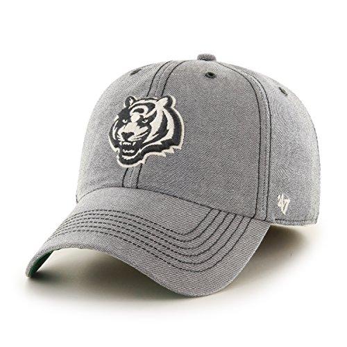 NFL Cincinnati Bengals Colfax Franchise Fitted Hat, Medium, Carbide