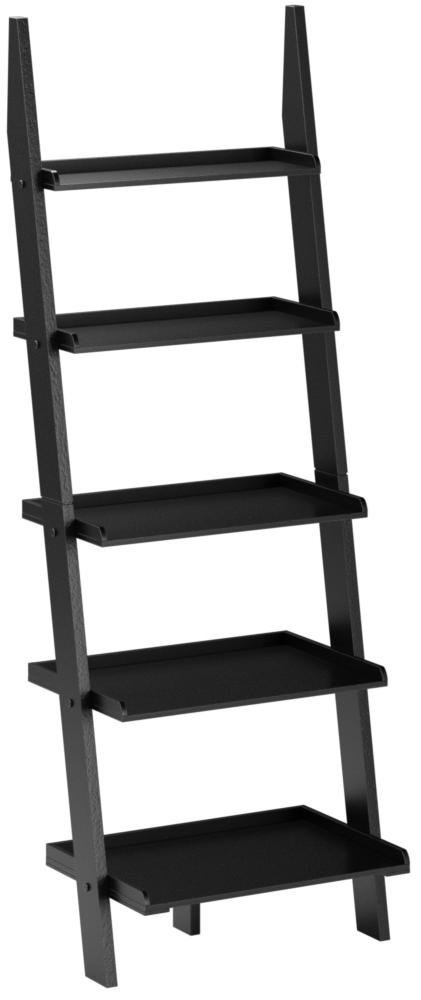 Convenience Concepts American Heritage Bookshelf Ladder, Black by Convenience Concepts
