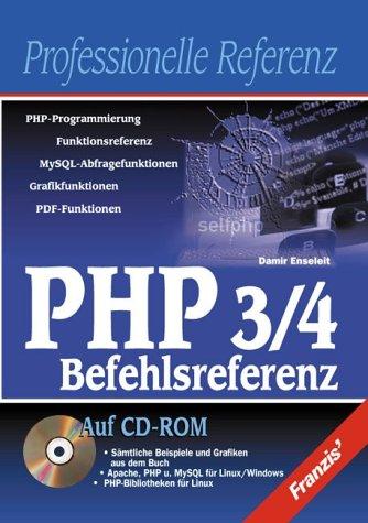 PHP 3/4 Referenz, m. CD-ROM