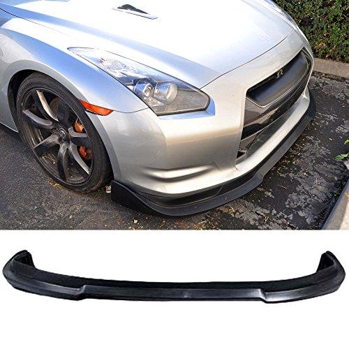 09-11 Nissan GTR STL Style Poly Urethane Add-On Front Bumper Lip Spoiler (Gtr Spoiler)
