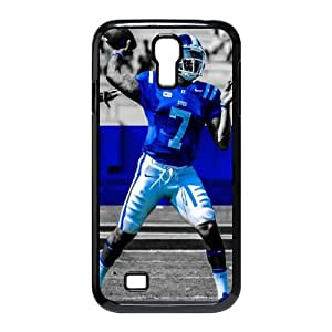 Hard Plastic Cover case 6 NCAA ACC Duke Blue Devils Football Print Black Case With Hard Shell Cover for SamSung Galaxy S4 I9500