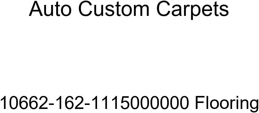 Auto Custom Carpets 10662-162-1115000000 Flooring