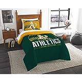 The Northwest Co mpany MLB Oakland Athletics Grandslam Twin 2-piece Comforter Set