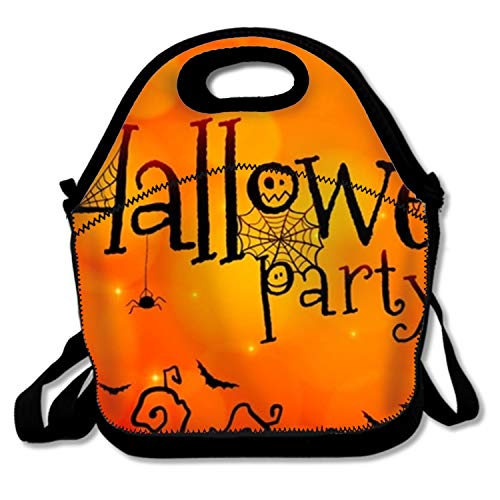IMISS Halloween Paty Show Lunch Tote Bags Insulated Waterproof Lunch Box Food Picnic Bags for Adults,Men,Women,Kids
