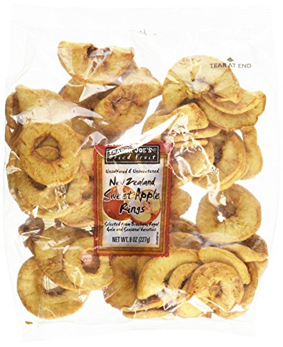 Ring Fruit - Trader Joe's New Zealand Sweet Apple Rings (Dried Fruit)