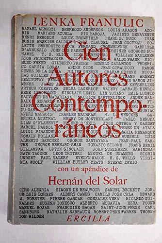 Cien autores contemporáneos: Amazon.es: Franulic, Lenka: Libros