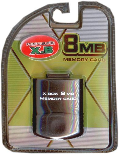- Xbox 8 mb Memory Card (8mb Memory Card for Xbox)