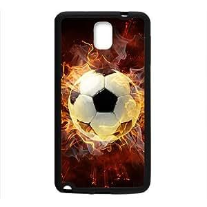 Fire Football Custom Protective Hard Phone Cae For Samsung Galaxy Note3