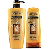 L'Oreal Paris Hex 6 Oil Shampoo and Conditioner, 640ml and 175ml (1) - Combo Pack