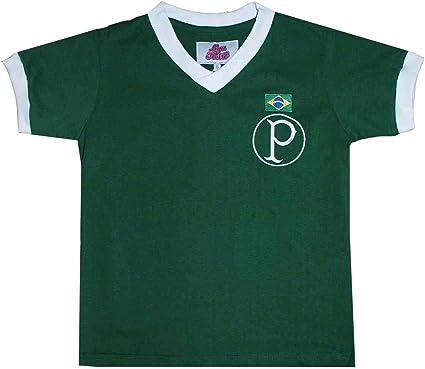 Kit Camisas Liga Retrô Palmeiras 1951 e 1914-15 Infantil