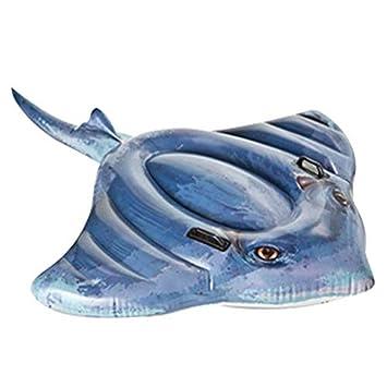 Amazon.com: Transser Flotador inflable para piscina, colchón ...