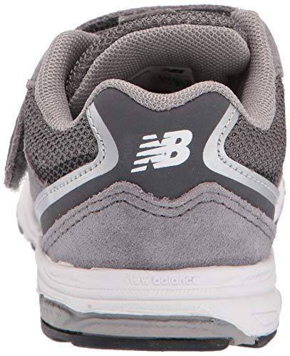 New Balance Boys' 888v2 Hook and Loop Running Shoe Dark Grey, 2 M US Infant by New Balance (Image #2)
