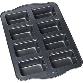 Amazon.com: Fat Daddio's 12-Cup Square Muffin Pan: Small