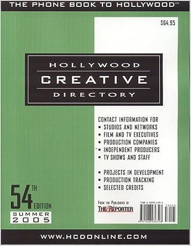 Descargar Libros Formato Hollywood Creative Directory Epub Patria