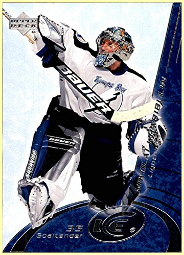 2003-04 Upper Deck Ice #79 Nikolai Khabibulin TAMPA BAY LIGHTNING - Tampa Bay Goalie Lightning