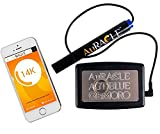 Works with Apple iOS and Android mobile devices with Low Energy Bluetooth capability. One touch easy calibration for consistent results. May be calibrated using 10K, 14K, 18K, 22K, 24K or platinum World's best performing gold testing technology with ...