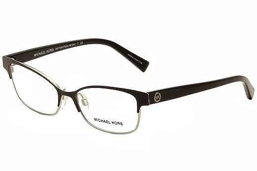 michael kors eyeglasses palos verdes mk7004 1031 blacksilver optical frame 51mm - Michael Kors Eyeglasses Frames
