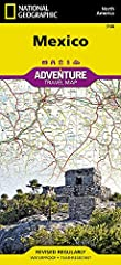 • Waterproof • Tear-Resistant • Travel Map       With its rich cultural history, numerous ecosystems and vast biodiversity, Mexico is one of the most visited countries in the world. National Geographic's Mexico Adventure Map was create...