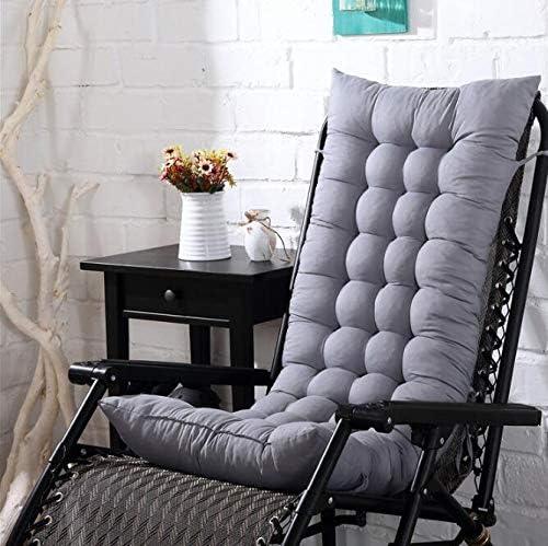 Marbeine - Colchón de cojín para Tumbona, cojín Mate para Silla de Relax, Tumbona de jardín, terraza 48 x 125 x 8 cm, Gris: Amazon.es: Jardín