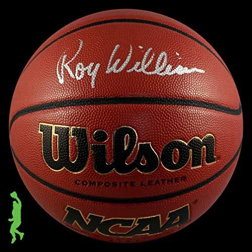 (Roy Williams (Safety) Autographed Football - Ncaa Basketball Unc Tar Heels Coa - JSA Certified - Autographed Footballs)