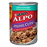 Purina Alpo Prime Cuts Stew With Beef & Vegetables In Gravy Wet Dog Food - (12) 13.2 Oz. Cans