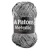Spinrite Metallic Yarn, Pewter
