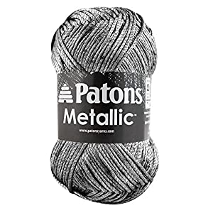 Spinrite Metallic Yarn, Pewter