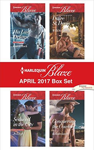 book cover of Harlequin Blaze April 2017 Box Set
