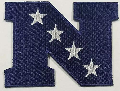 National Football League NFC Logo Iron on Embroidered Patch 3.1 x 2.3 inches