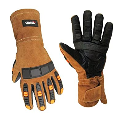 Cestus Welder Series Weldtech TX Cowhide Leather Welding Glove