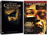 Wolf Creek / The Texas Chainsaw Massacre (2-Pack)