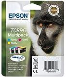Epson Original Durabrite T0896 Monkey Multipack - Cartuchos de tinta