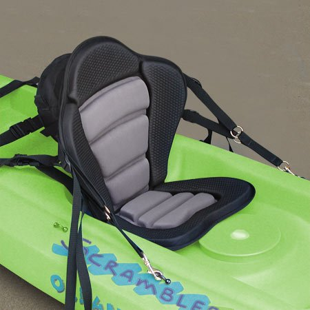 Surf To Summit GTS Elite Molded Foam Kayak Seat With A Fishing Pack, Sit On Top Kayak Seat