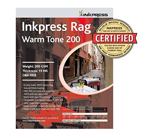 (Picture Rag Warm Tone Paper 200 gsm 8.5 x 11