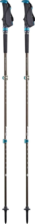 Black Diamond Trail Pro Shock Diamond Trekking Pole Tip Protectors Bastones Accesorios Color Negro//Rojo Negro Unisex-Adult Bastones de Trekking y Senderismo Pair 68-140cm