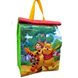 Disney Winnie the Pooh Insulated Lunch Bag Tote Red with Top Handle & Velcro Closure