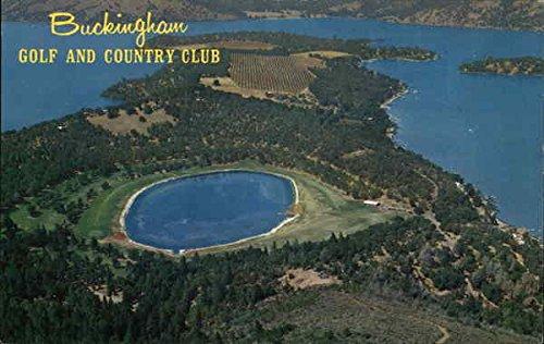 Buckingham Golf and Country Club Original Vintage Postcard