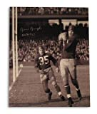 "Sammy Baugh Washington Redskins 16x20 Photo Catching Inscribed HOF 1963"" Autographed - Autographed NFL Photos"