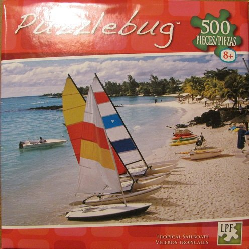 Puzzlebug - Tropical Sailboats - 500pcs