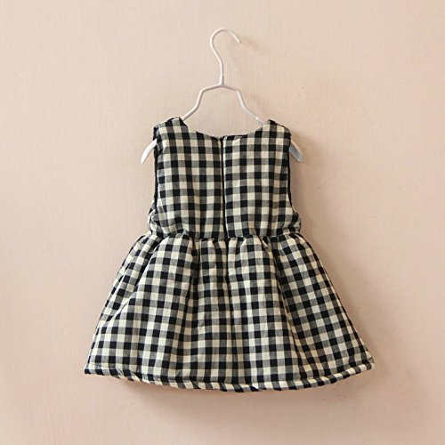 Amazon.co.jp: ギンガムチェック ワンピース キッズ 子供 4歳適応 コットン100% 韓国 子供服 フォーマル (6A(6歳))  ベビー\u0026マタニティ